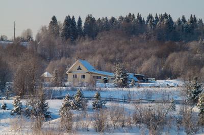 *** зима пейзаж