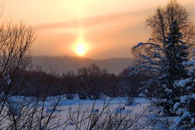 Морозное утро Кошурниково мороз