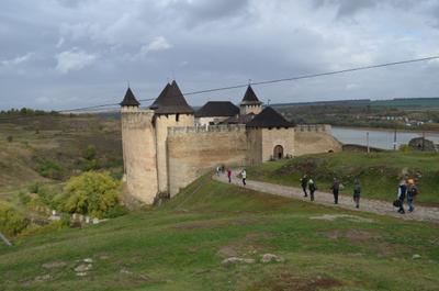 ***Хотинская крепость архитектура дворец замок крепость