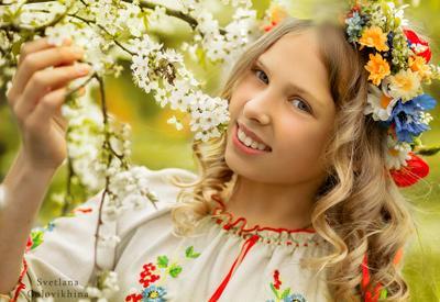 Весеннее настроение Фото дети Киев весна