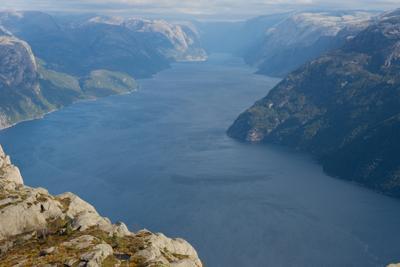 Про Норвежские Фьорды Норвегия Пейзаж Фьорд