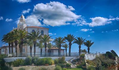 Маленький зАмок Алгарве Португалия вилла отель пальмы CatSteel