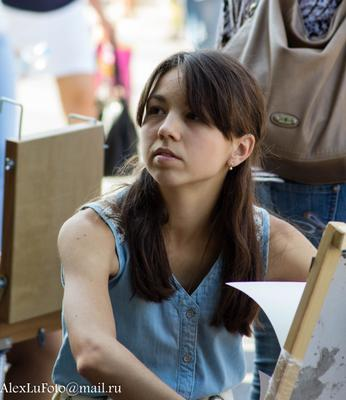 Художница Девушка портрет художница
