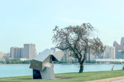 Парковая скульптура.