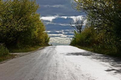 Дорога в облака Облака, дорога.