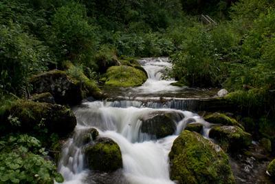*** водопад