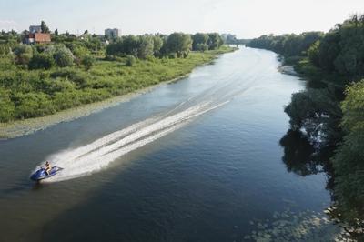 Современная русалка Лето река Хопер