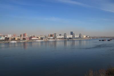Левый берег Мой город Красноярск
