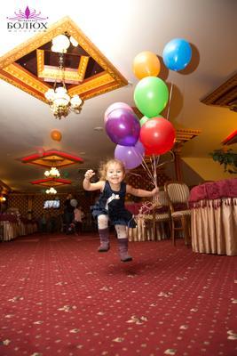 Я лечу )) Ребенок девочка воздушные шары радость счастье полет