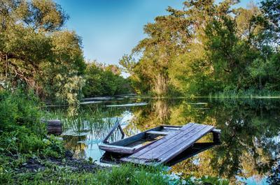 *** пейзаж река