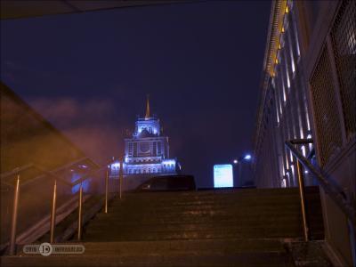 Замереть на минуту, и люди как дым... ночь штатив выдержка город фиоллентоваяночнушка