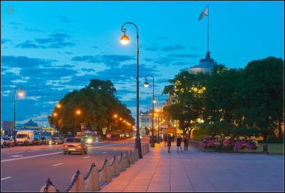 Самый красивый Город. Петербург праздник Жосс Бомон