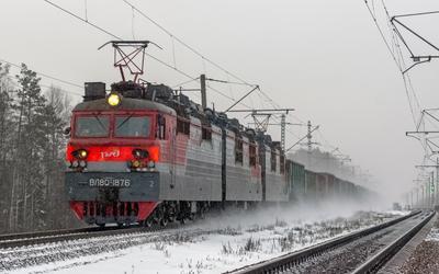 ВЛ80С-1876 ВЛ80С-1876 ВЛ80С-2155 сев сжд жд номжа еленский перегон поезд транспорт транссиб локомотив электровоз