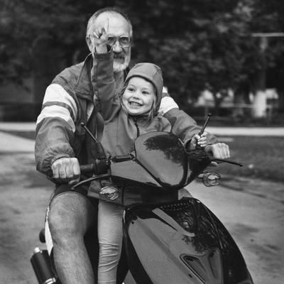 Мечты сбываются! счастье мечта радость мопед скутер