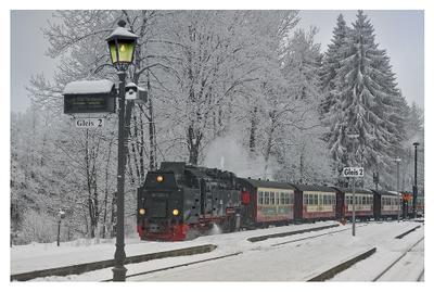 Поезд в сказку