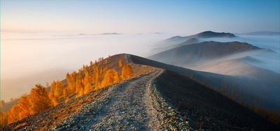 Утро на Карабаше карабаш южный урал осень туман