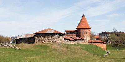 Каунасские зарисовки - 4 литва каунас Каунасский замок