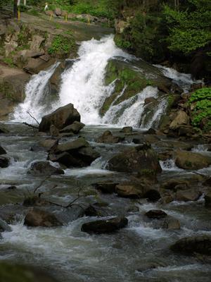 водопад Камянка Карпаты водопад Камянка