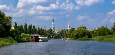 *** река церковь