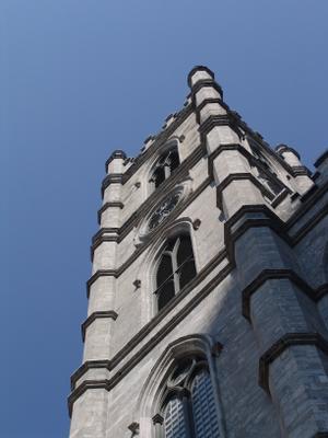 Notre-Dame Basilica.Montreal. Канада Монтреаль Квебек церковь собор католицизм