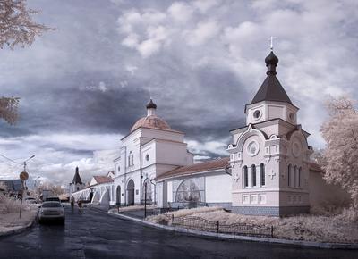 *** Муром Часовня Ксении Петербуржской город архитектура