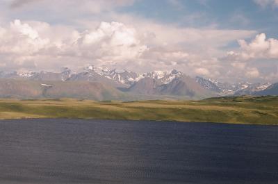 Кальжин-кёль Алтай горы Укок
