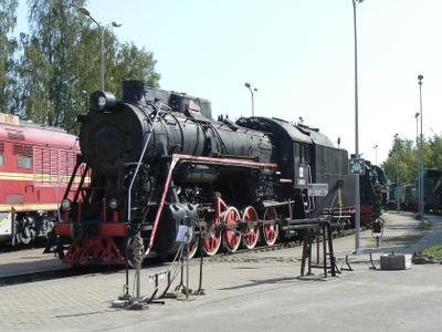 Рига.Паровоз L-0312 Рига паровоз музей латвийской железной дороги