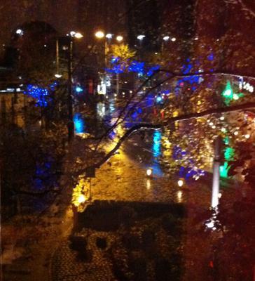 Город осень дождь вчер осень город