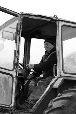 Тракторист трактор мужчина