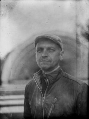 Портрет друга в Александровском саду. фото на бумаге