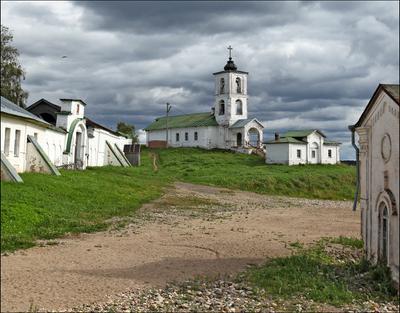 Введенская церковь Горицы река Шексна