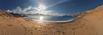 Солнце, море и берег зовут... Крым море горы Киммерия Тишина покой