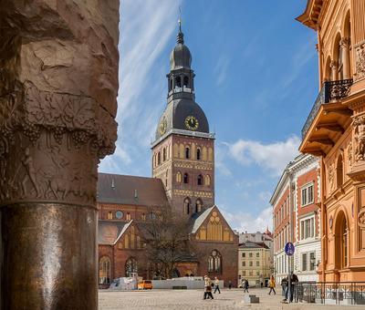 Домский собор путешествия город архитектура Рига Латвия