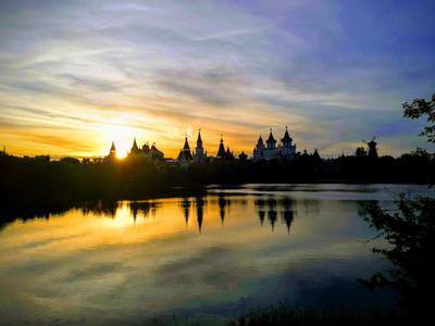 Закат в Измайлово Москва Измайлово Закат Вечер