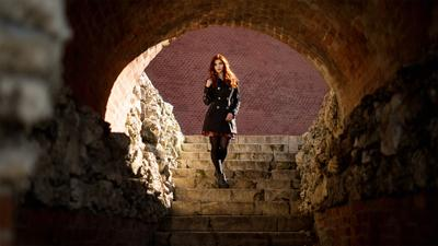 Red Wall Cave red wall cave redhead alexandr chuprina красная стена пещера рыжая александр чуприна