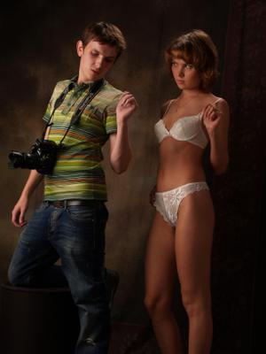 Фотограф и модель