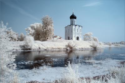 Одинокое величие Церковь, Покрова на Нерли, Владимир, Боголюбово