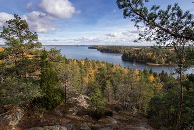 Гора Солнечная, в окресностях Лахти. Финляндия