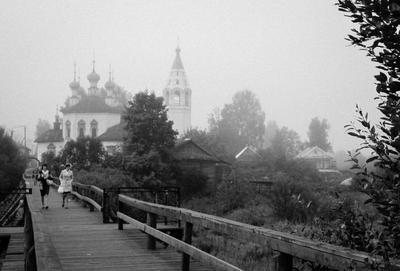 *** туман утро Устюжна