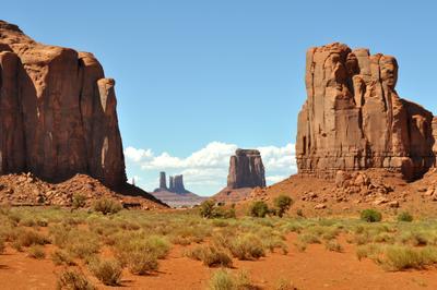 *** скалы пустыня небо
