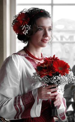 Наречена невеста, букет, свадьба