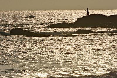 Рыбаки рыбаки Шри-Ланка