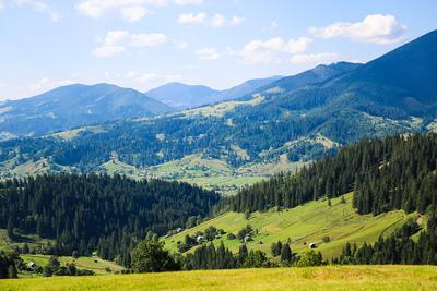Верховина. горы Карпаты Верховина природа