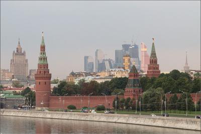 Удавил бы архитекторов! Москва Пейзаж