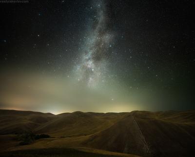 Звездная ночь в Долгих горах долгие горы фототур яковлевфототур василийяковлев