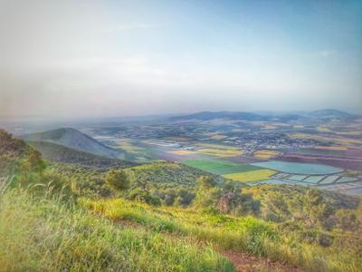 Далина Херод возле Бейт Шеана