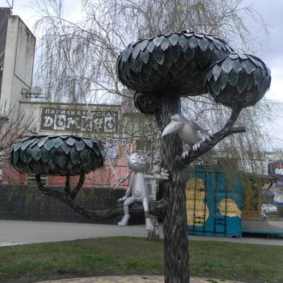 Котёнок с улицы Лизюкова Воронеж мультфильмы