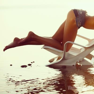 Kristina #8 лето солнце тепло закат пляж залив песок ассистент