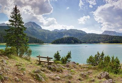 Црно-Езеро Черногория Чёрное озеро пейзаж