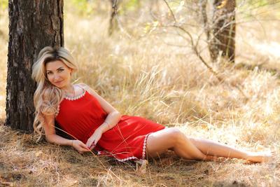 Людмила портрет девушка модель